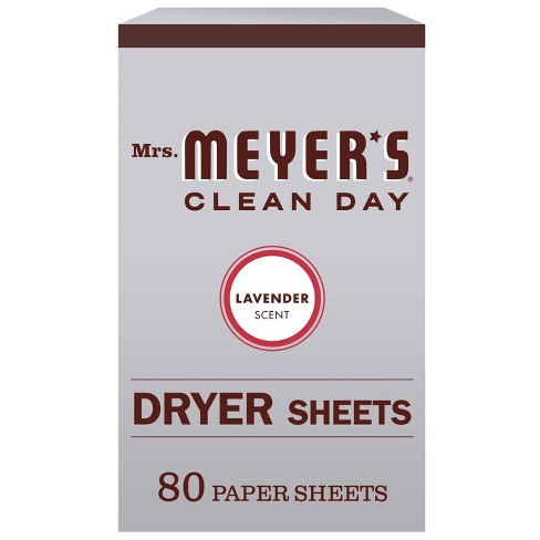 Mrs. Meyer's Clean Day Lavender Scent Dryer Sheets - 80pk - image 1 of 4
