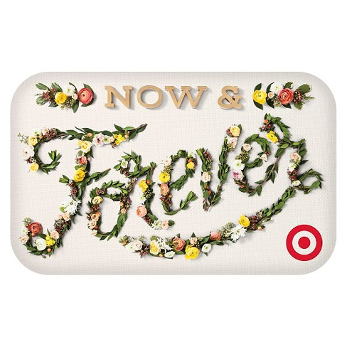 now and forever wedding gift card target