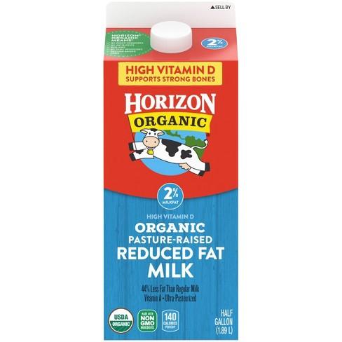 Horizon Organic 2% Milk - 0.5gal - image 1 of 4