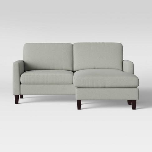 New Hampton Sofa with Adjustable Chaise Beige - Threshold™ - image 1 of 4