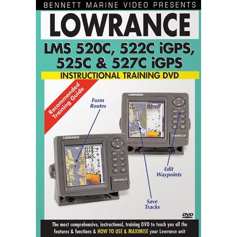Lowrance Lms 520c 522c Igps 525c & 52 (DVD)