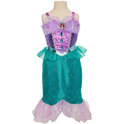 Disney Princess Majestic Collection Ariel Dress, Size: 4-6x