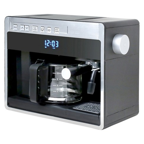 Espressione New 3in1 Combination Coffee Beverage System - Black with Silver - image 1 of 3