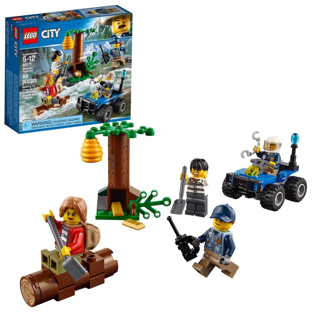 Lego City Police Mountain Headquarters 60174 From 7199 Nextag 7744 Fugitives 60171