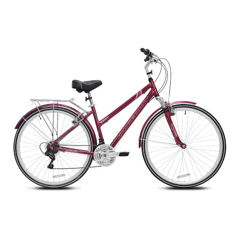 "Kent Women's Ridgeway 700c/28"" Hybrid Bike - Burgundy - image 1 of 4"