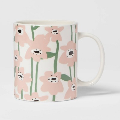 15oz Stoneware Floral Print Mug - Room Essentials™