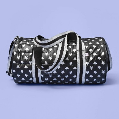 Kids' Star Print Duffel Bag - More Than Magic™ Black