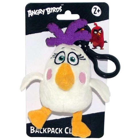 """License 2 Play Inc Angry Birds Movie 4.5"""" Plush Clip On: Matilda - image 1 of 1"""