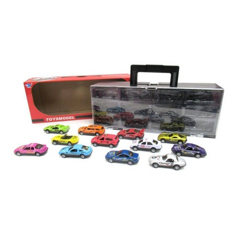 Lucky Toys 1:64 Scale Pull Back Car Set 12pc - image 1 of 2