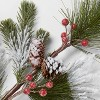 "28"" Artificial Long Needle Pine Stem with Pinecones - Threshold™ - image 3 of 3"