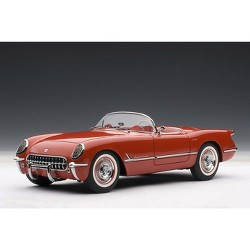 1954 Chevrolet Corvette Red 1/18 Diecast Model Car by Autoart