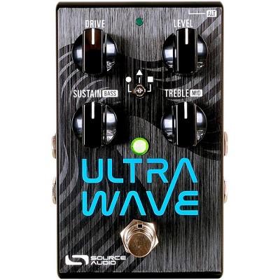Source Audio Ultrawave Multiband Processor Guitar Effects Pedal Black