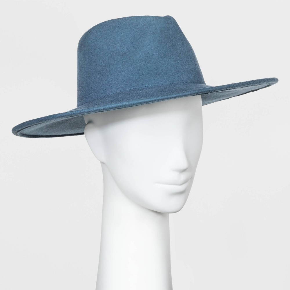 Compare Women' Wide Brim Felt Fedora Hat - Univeral Thread™