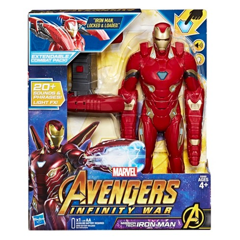 ae9bb546c268 Marvel Avengers  Infinity War Mission Tech Iron Man Figure   Target