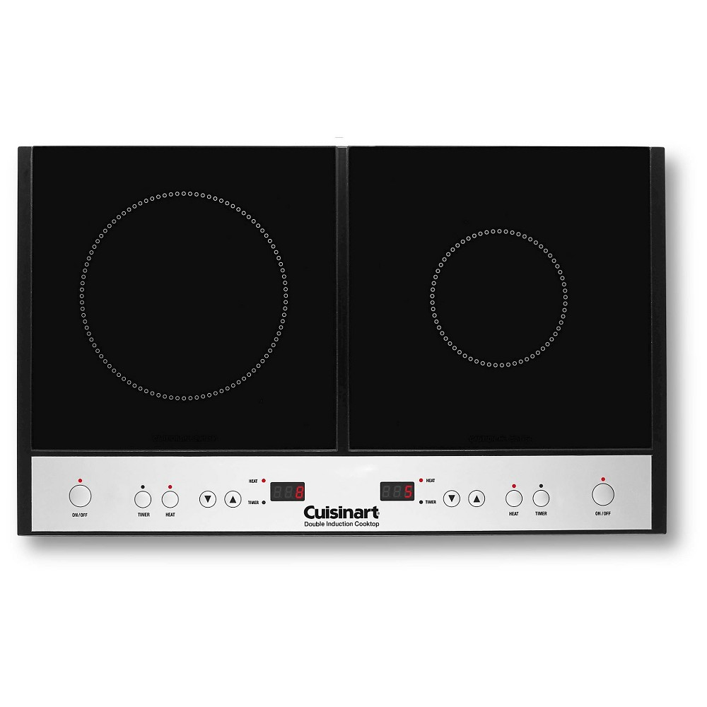 Cuisinart Double Induction Cooktop – Black Ict-60 51342140