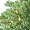 7.5ft Puleo Pre-Lit Full Vermont Spruce Christmas Tree with Sure Lit Pole 550 Clear Incandescent Lights - image 2 of 3