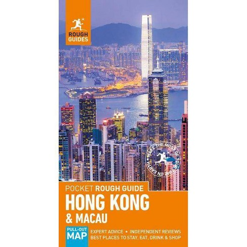 Pocket Rough Guide Hong Kong & Macau (Travel Guide) - (Pocket Rough Guides) 4 Edition by  Rough Guides - image 1 of 1