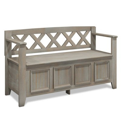 "48"" Halifax Entryway Storage Bench - WyndenHall"