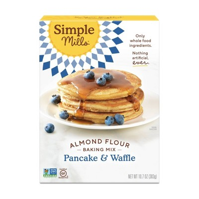 Simple Mills Gluten Free Pancake & Waffle Almond Flour Mix - 10.7oz