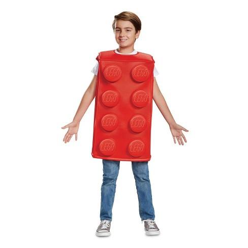 b3b96e5955 Kids  LEGO Classic Red Brick Halloween Costume - Disguise   Target