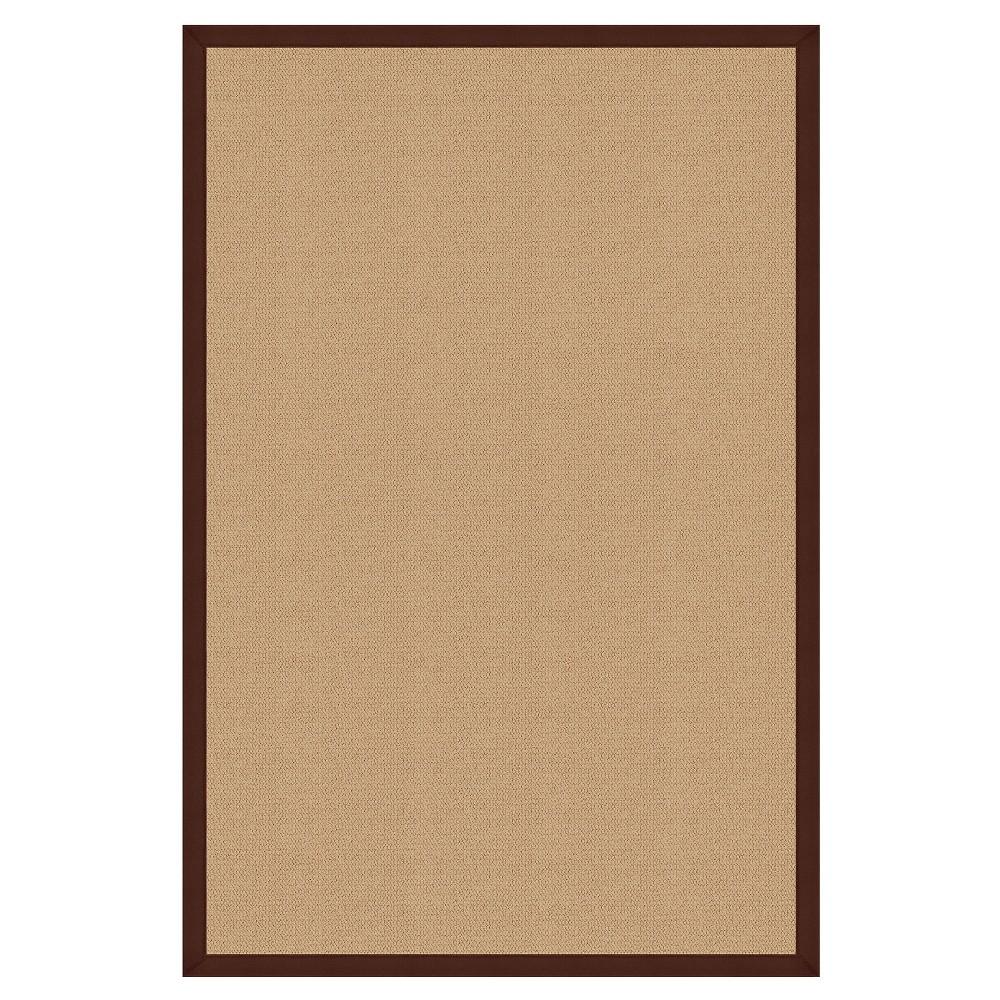 Athena Wool Area Rug - Brown (4' X 6')