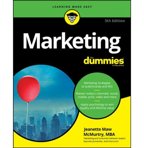Marketing for Dummies (Paperback) (Jeanette Mcmurtry) - image 1 of 1