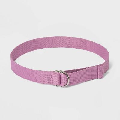 Women's Webbing Belt - Wild Fable™ Pink