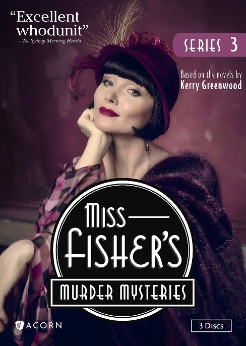 Miss fisher's murder mysteries ss 3 (DVD) - image 1 of 1