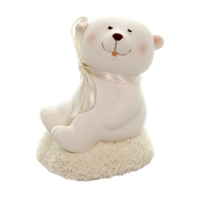 "Dept 56 Snowbabies 3.0"" Baby Bear Collectible Animal Annual  -  Decorative Figurines"