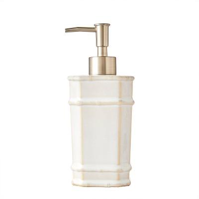 Vern Yip Bamboo Lattice Lotion Dispenser White - SKL Home