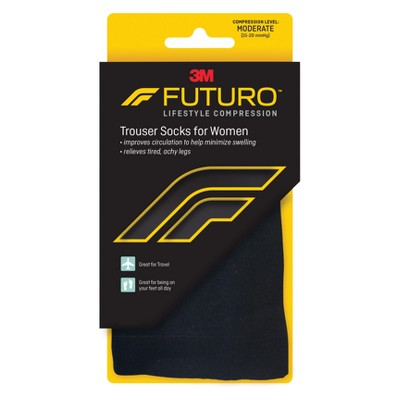 FUTURO Trouser Socks for Women, Relieves Spider and Varicose Veins