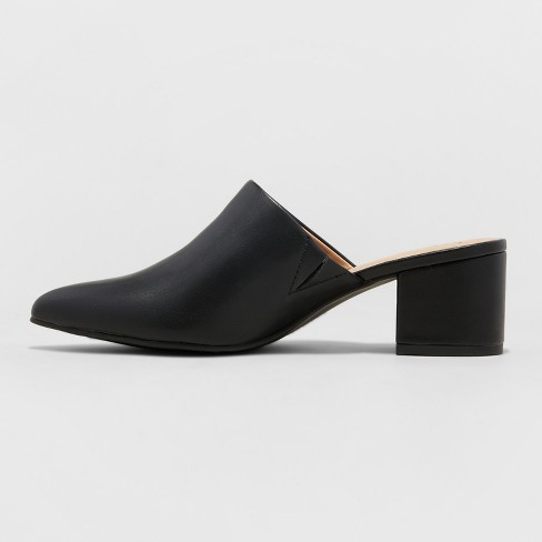 33330567988d Women s Bianca Wide Width Pointed Heeled Mules - A...   Target