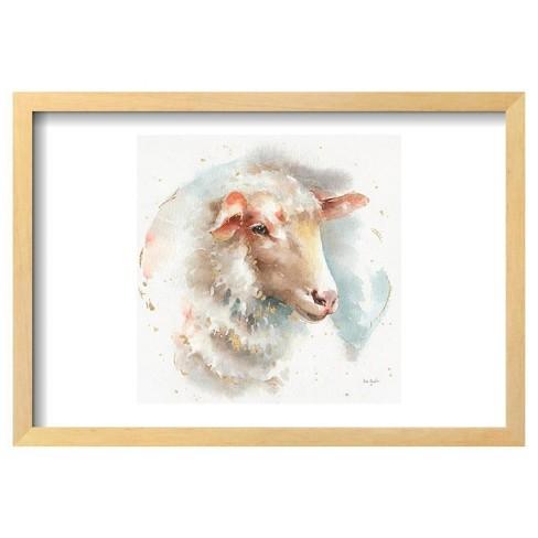 Farm Friends IV by Lisa Audit Framed Poster 19\