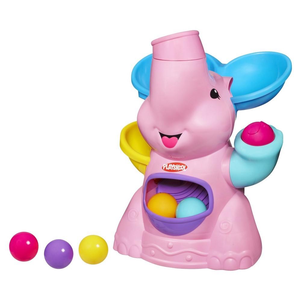 Playskool Poppin Park Elephant Busy Ball Popper Toy - Pink