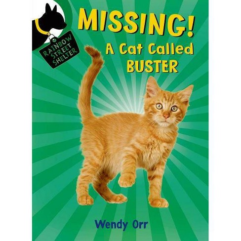 Missing! a Cat Called Buster - (Rainbow Street Shelter) by  Wendy Orr (Paperback) - image 1 of 1
