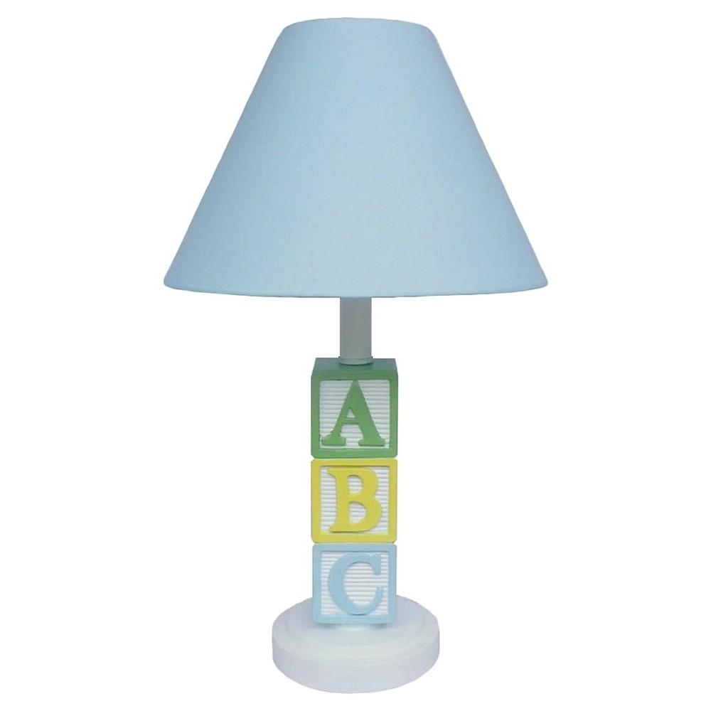 Image of Creative Motions Abc Lamp - Blue, Multi-Colored