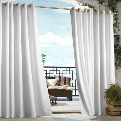 Outdoor Decor Gazebo 50 X 96 Solid Indoor/Outdoor Grommet Panel White - image 1 of 1