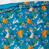 Friendly Fauna Microfiber Comforter Set Turquoise - Pillowfort™ - image 3 of 4