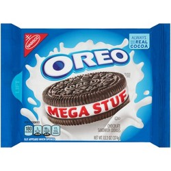 Oreo Mega Stuf Chocolate Sandwich Cookies - 13.2oz