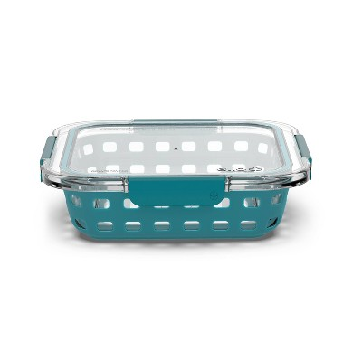 "Ello 8""x8"" Glass Baking Dish Teal"