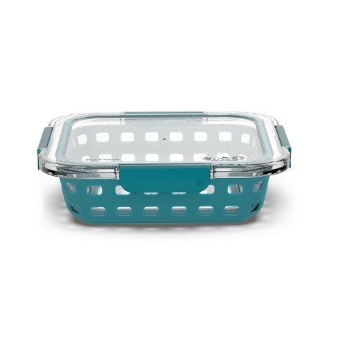 "Ello 8""x8"" Glass Baking Dish Teal - image 1 of 4"