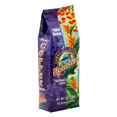 Hawaiian Isles Tropical Hazelnut Medium Roast Ground Coffee - 7oz - image 1 of 1