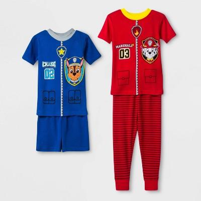 Baby Boys' 4pc PAW Patrol Pajama Set - Navy 12M