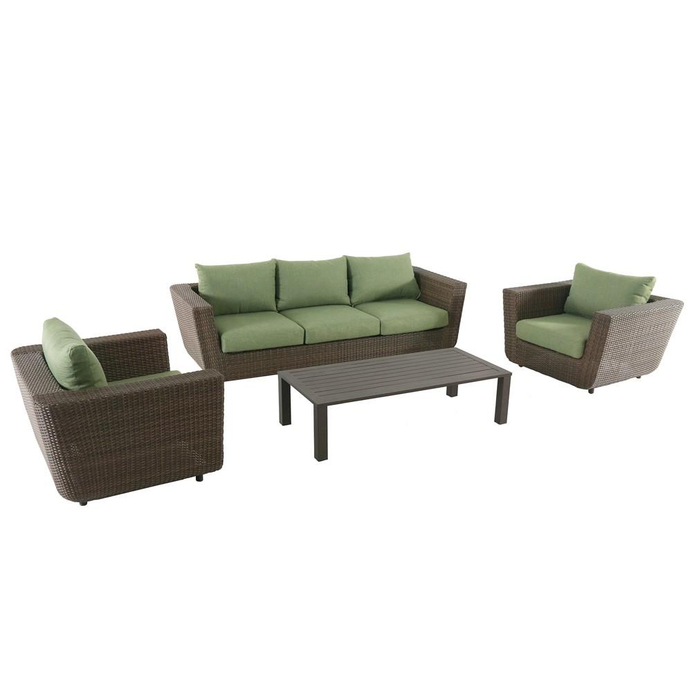 Image of 4pc Greta Seating Set - Royal Garden