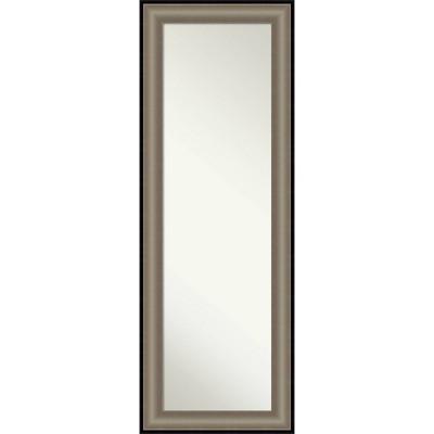 "19"" x 53"" Imperial Framed Full Length on the Door Mirror - Amanti Art"