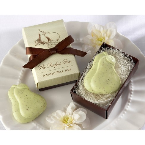 12ct Kate Aspen The Perfect Pair Pear Soap - image 1 of 4