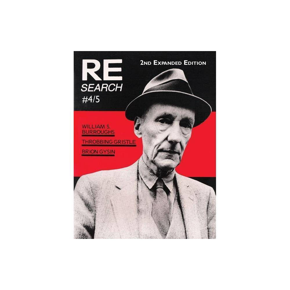 Re/Search 4/5 - 3 Edition (Paperback)