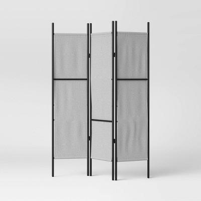 Room Divider Gray - Room Essentials™