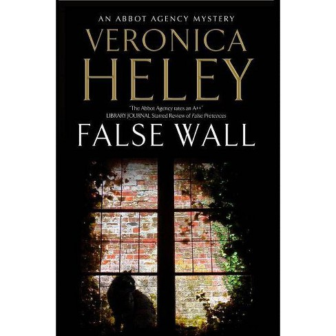 False Wall - (Abbot Agency Mystery) by  Veronica Heley (Hardcover) - image 1 of 1