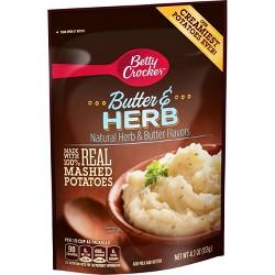 Betty Crocker Mashed Potato Butter Herb Pouch 4.7 oz